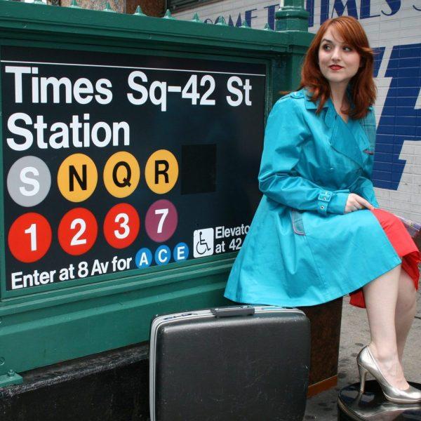 Jacque Times Sq subway